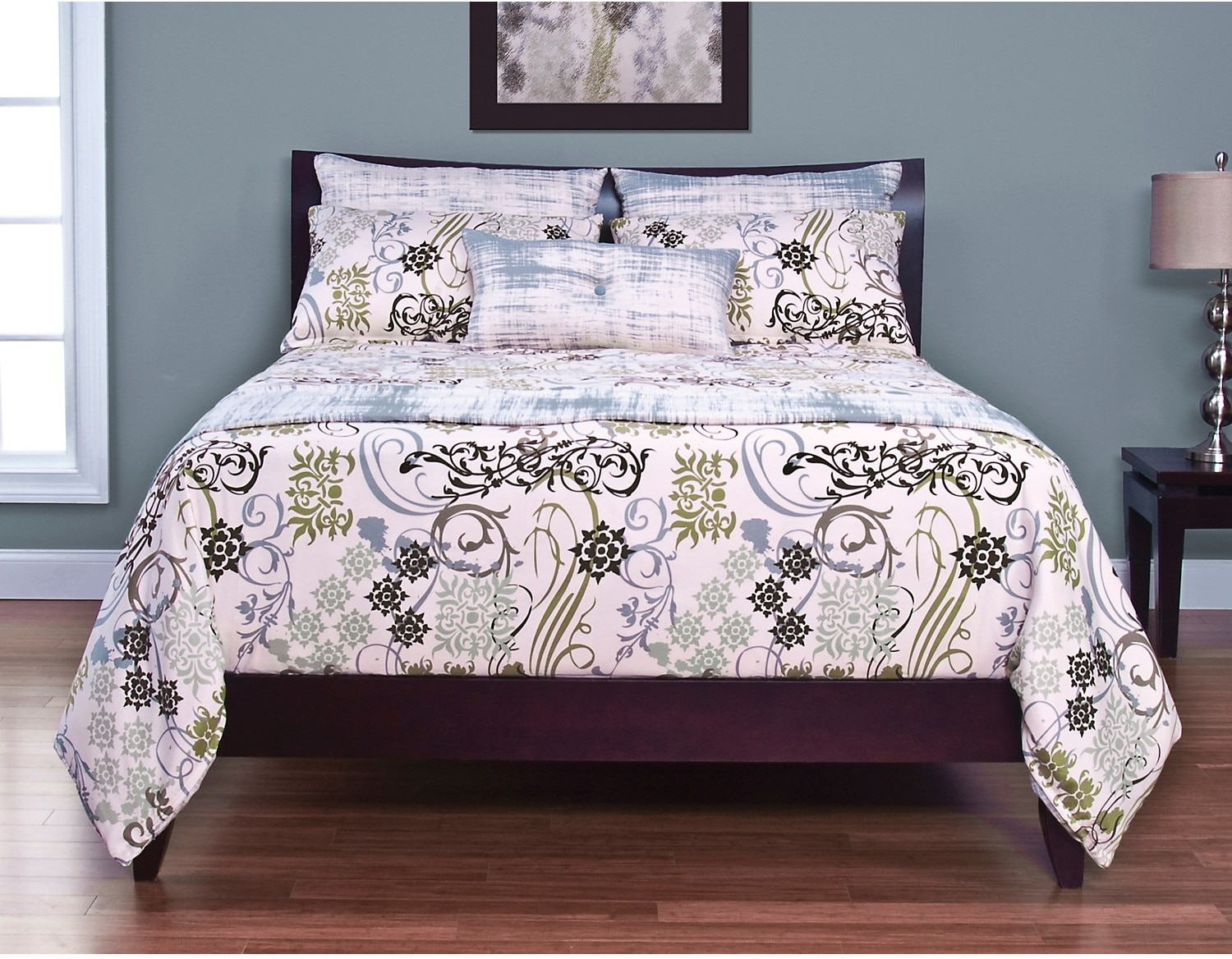 Mattresses and Bedding - Vintage Wear King Throw and 2 Shams