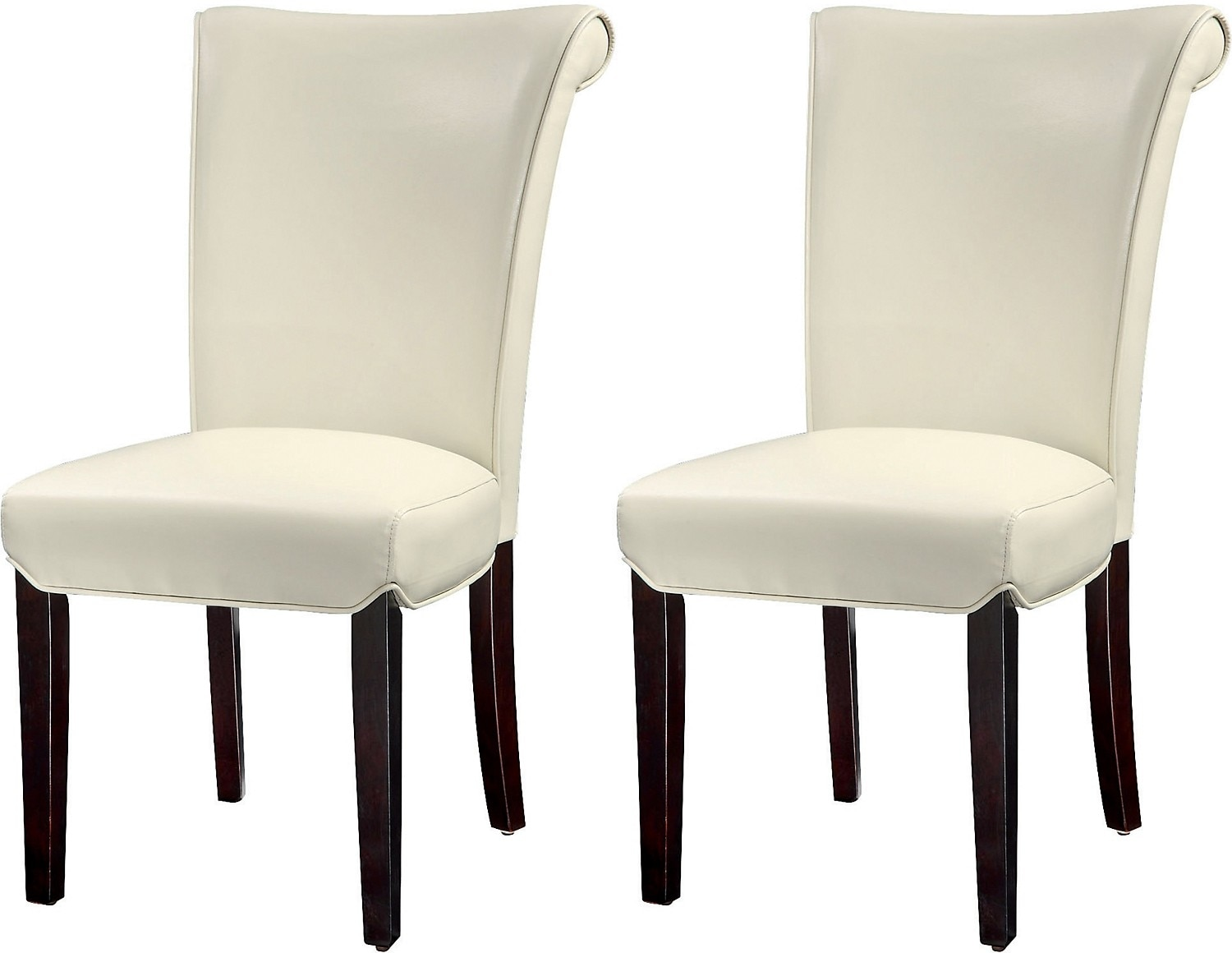 Brogan 2-Piece Dining Chair Package - Ivory