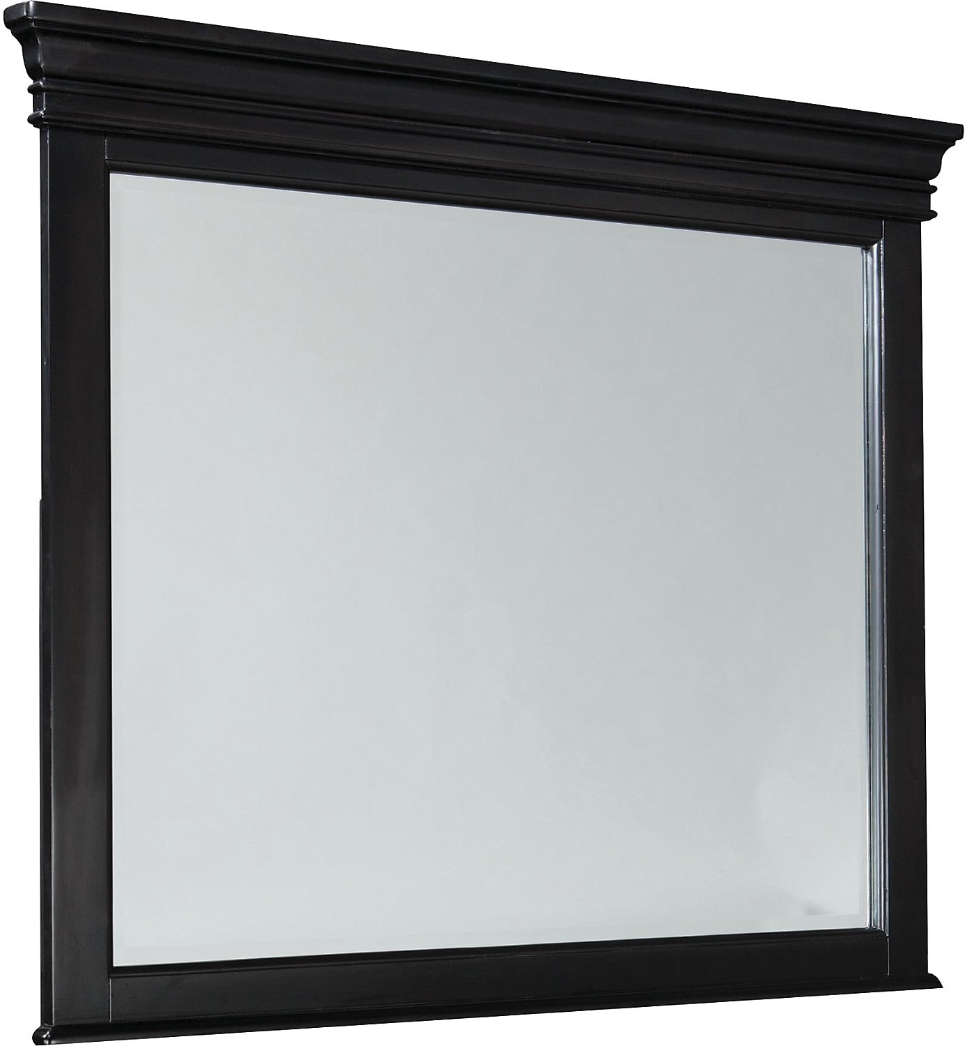 Bedroom Furniture - Bridgeport Mirror – Black