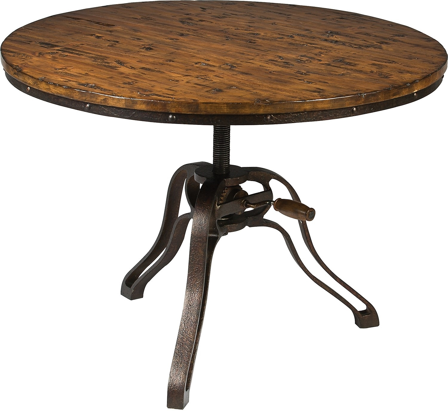 Magnussen Home Cranfill Round Cocktail Table: Cranfill Coffee Table With Lift Top