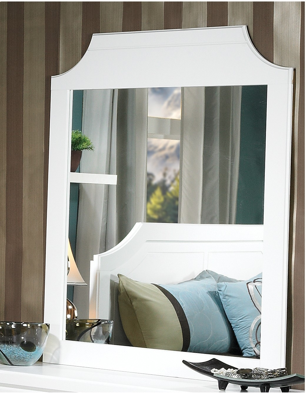 Bedroom Furniture - Bianco Mirror