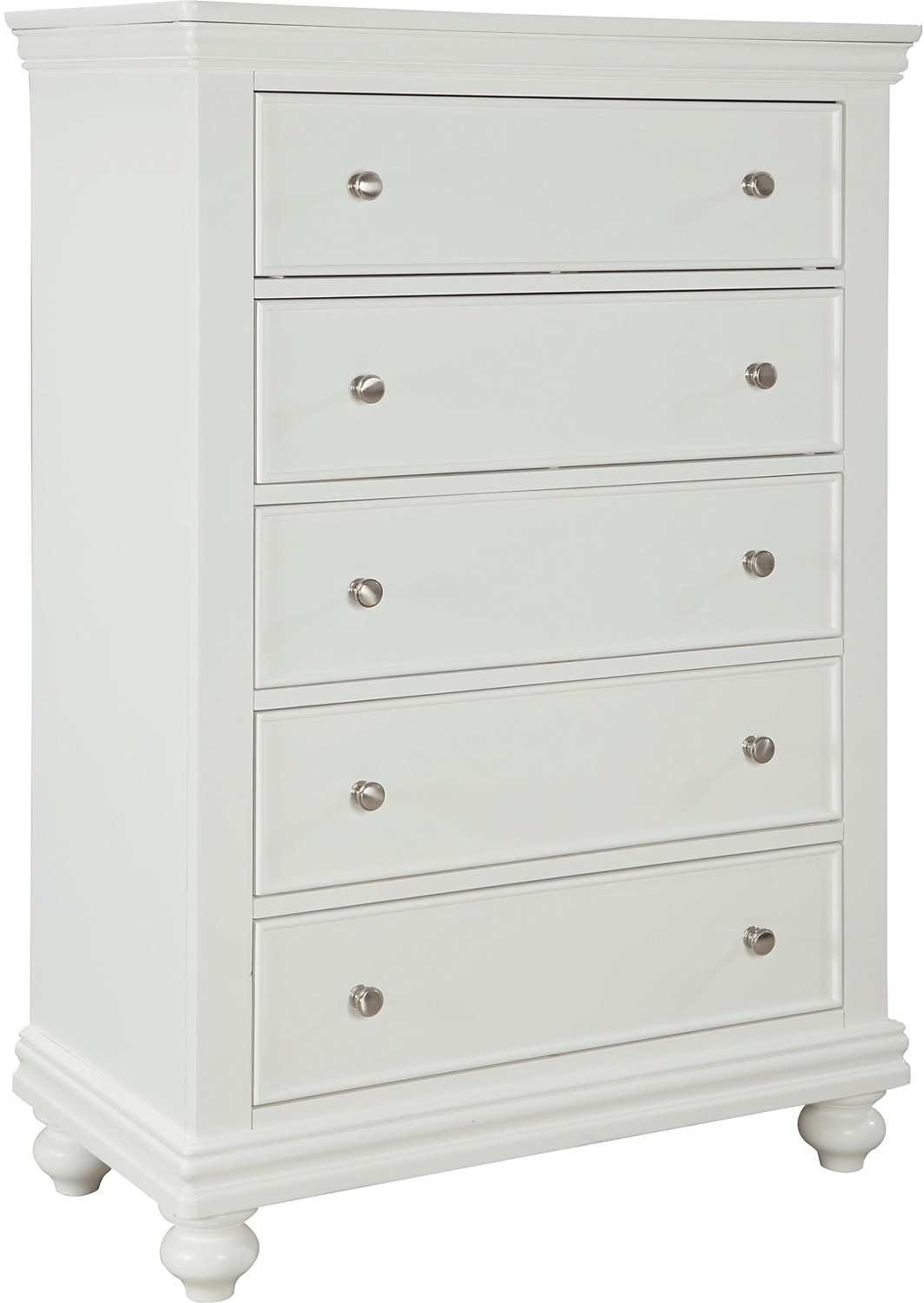 Commode verticale Bridgeport - blanche