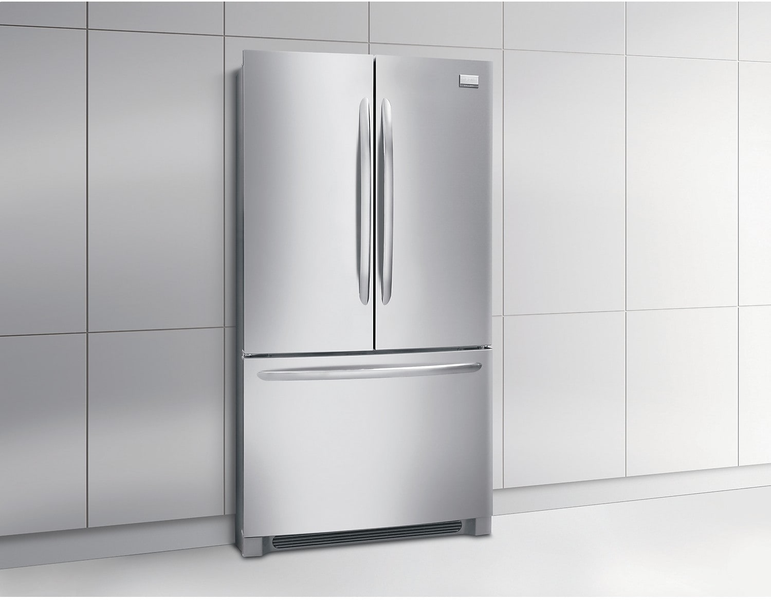 1168 #4F5357  French Door Counter Depth Refrigerator – Stainless Steel The Brick picture/photo Stainless Steel Refrigerator French Doors 33791500