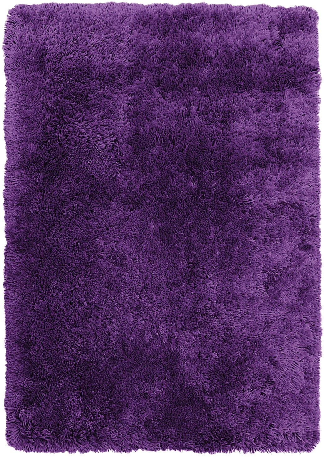 Purple Fashion Shag Area Rug – 4' x 5'