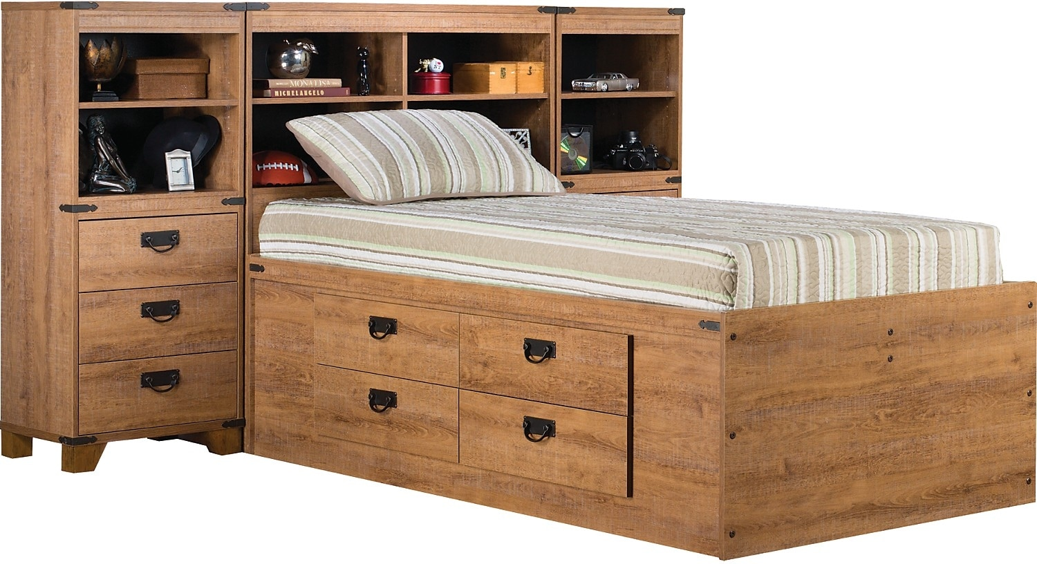 Driftwood Captains Pier Bed