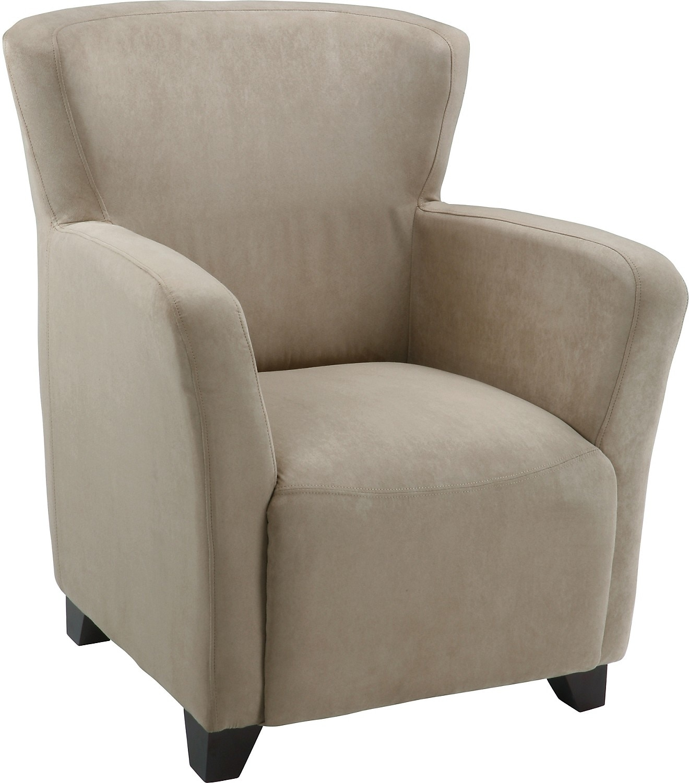 Mocha Microsuede Chair United Furniture Warehouse