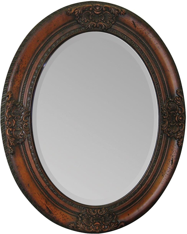 Copenhagen Hand-Carved Mirror