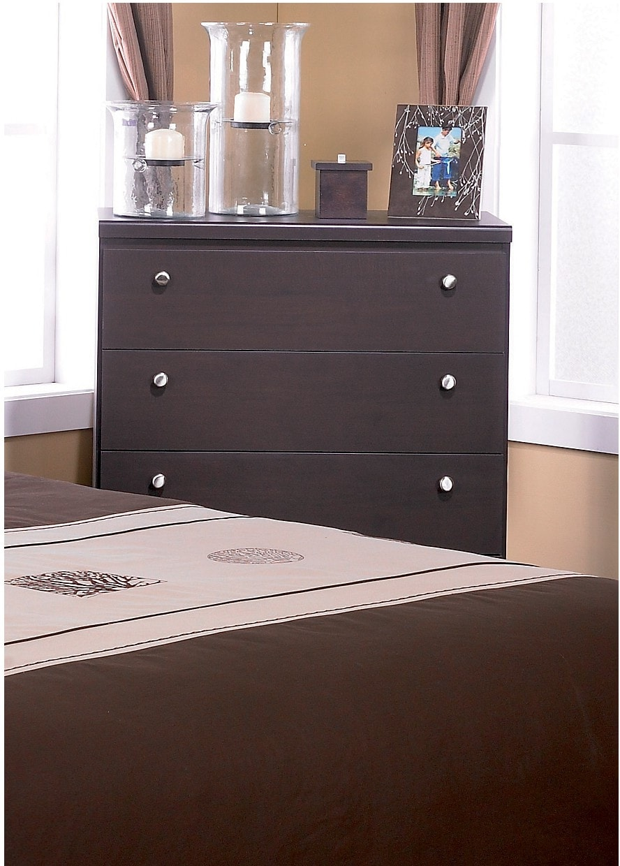 Bedroom Furniture - Dark Saddle Birch Chest