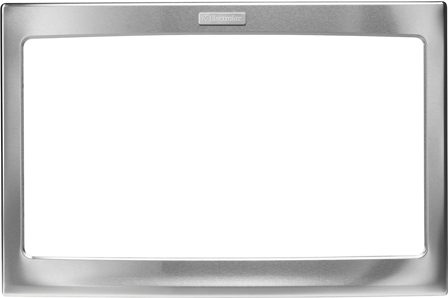 "Electrolux 27"" Microwave Trim Kit – Stainless"
