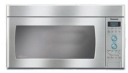 Cooking Products - Panasonic 2.0 Cu. Ft. Inverter® Over-the-Range Microwave - Stainless Steel