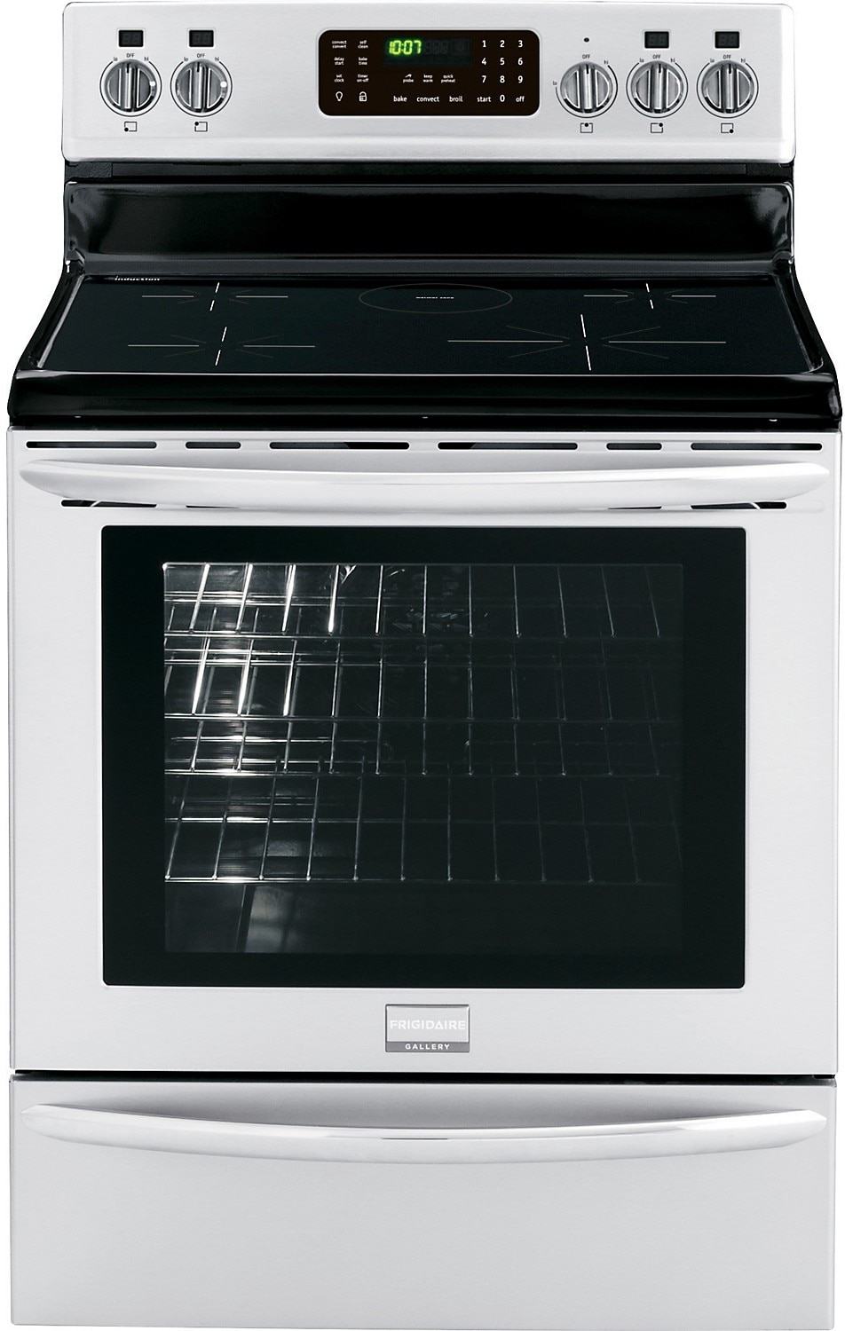 "Cooking Products - Frigidaire Gallery 30"" Freestanding Induction Range - Stainless Steel"