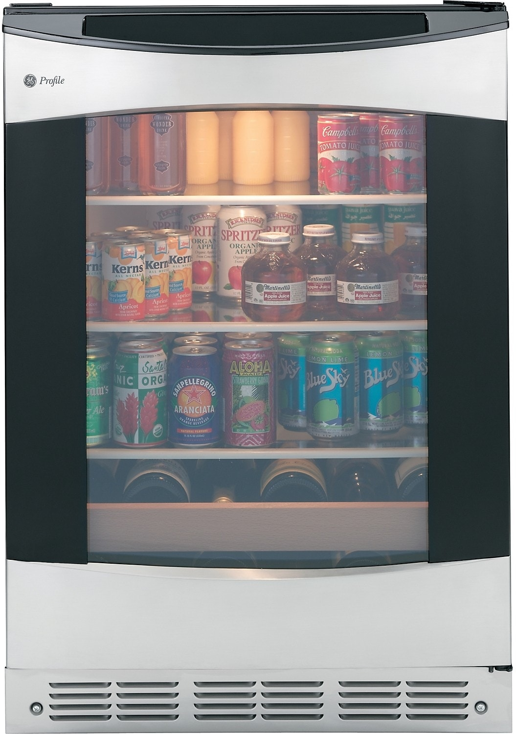Refrigerators and Freezers - GE Profile 5.5 Cu. Ft. Beverage Centre - Stainless Steel