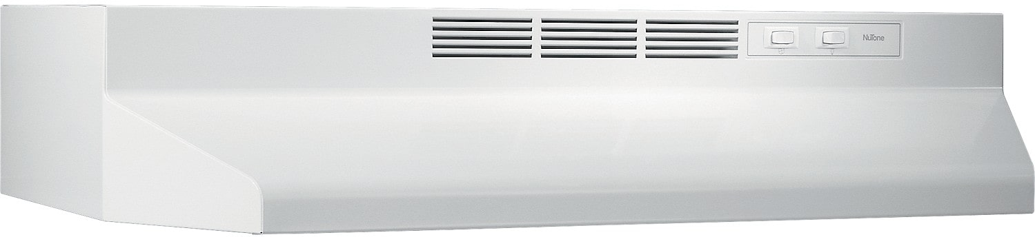 "Cooking Products - NuTone 30"" 180 CFM Convertible Range Hood - White"