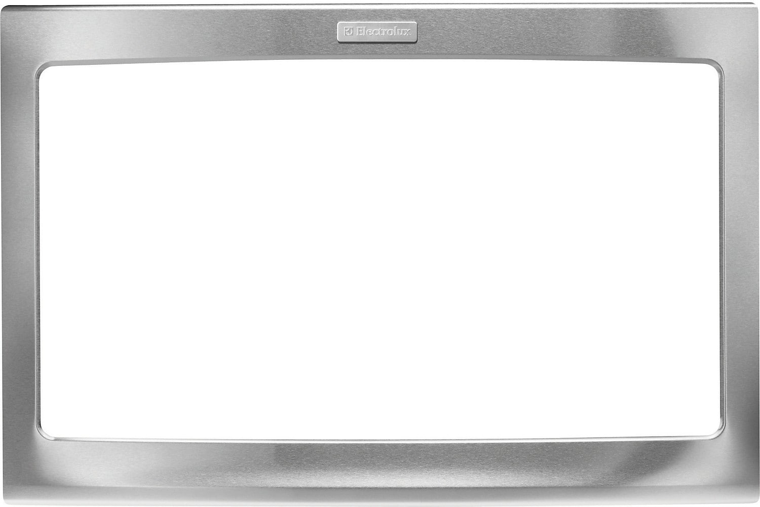 "Electrolux 30"" Microwave Trim Kit Stainless"