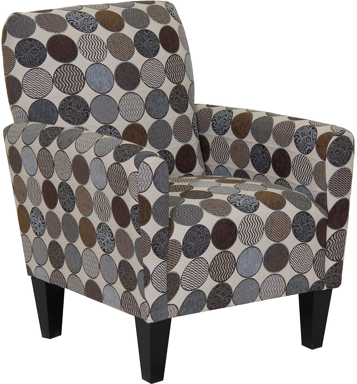 Living Room Furniture - Designed2B Fabric Accent Club Chair - Spa