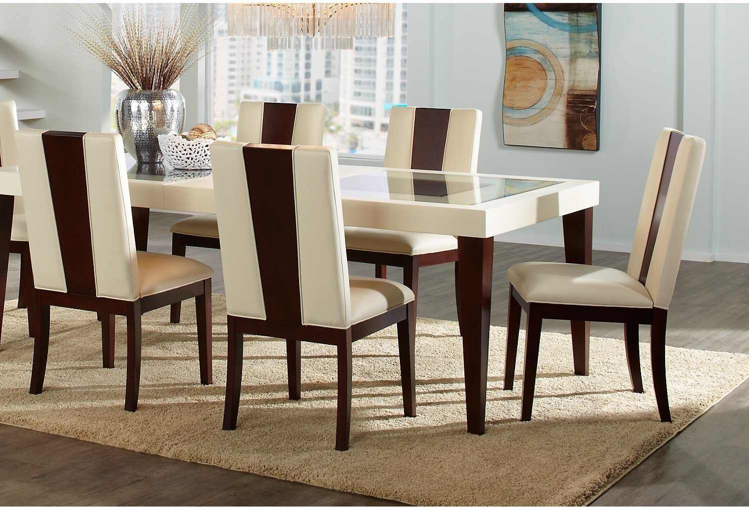 Dining Room Furniture - Zeno 5-Piece Dining Package