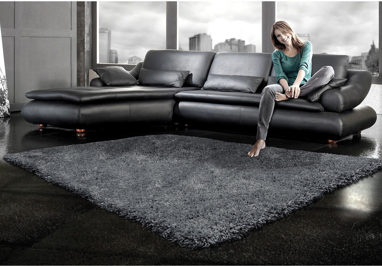Rugs - Loft Grey Shag Area Rug – 7' x 10'