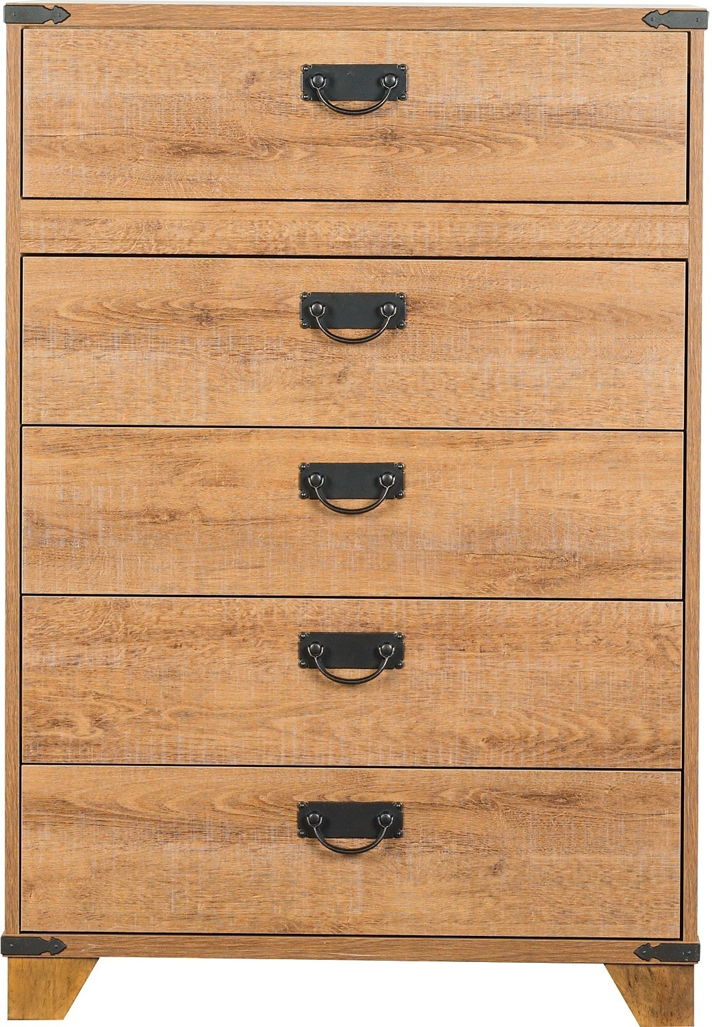 Kids Furniture - Driftwood 5-Drawer Chest