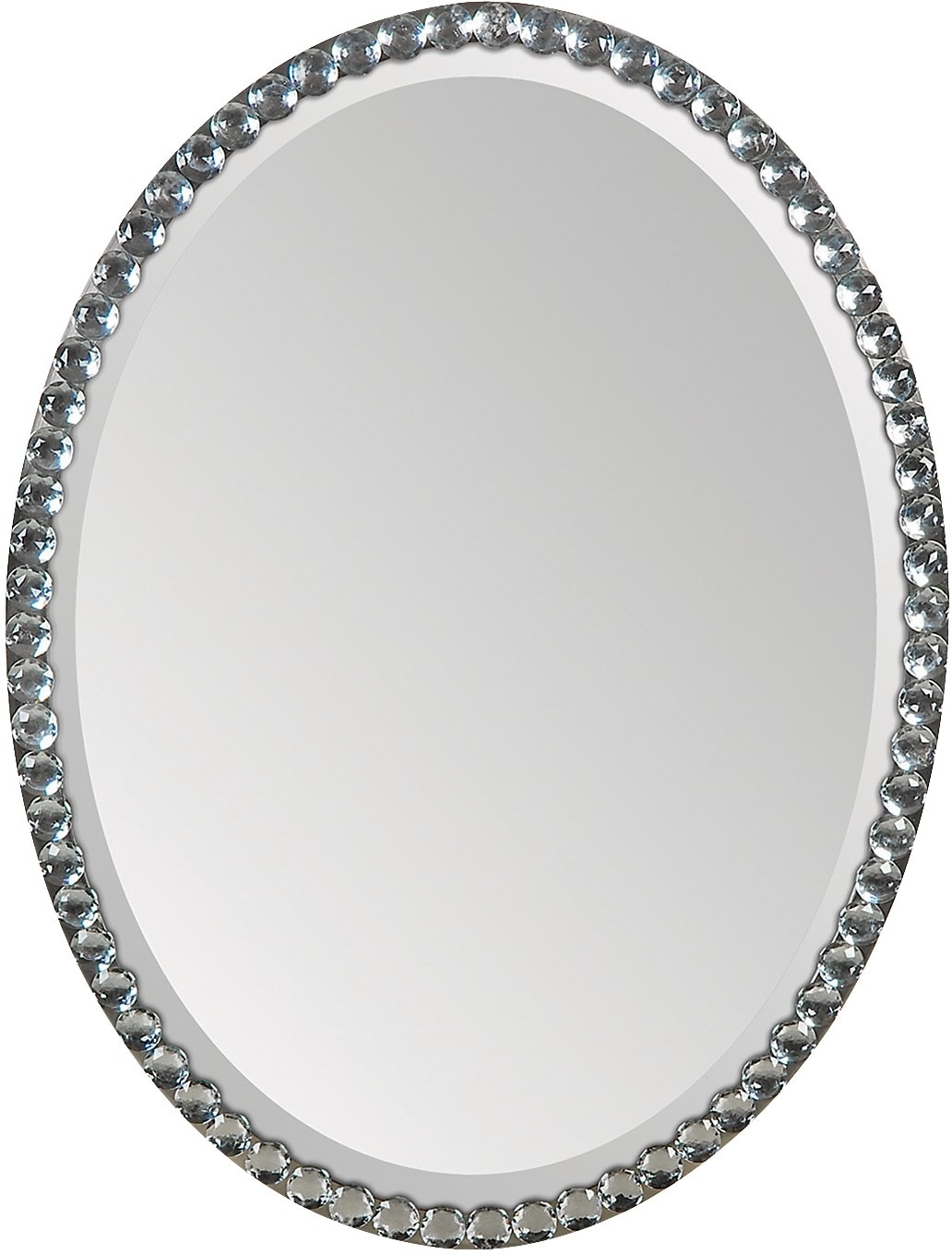 Home Accessories - Dublin Crystal & Silver Mirror