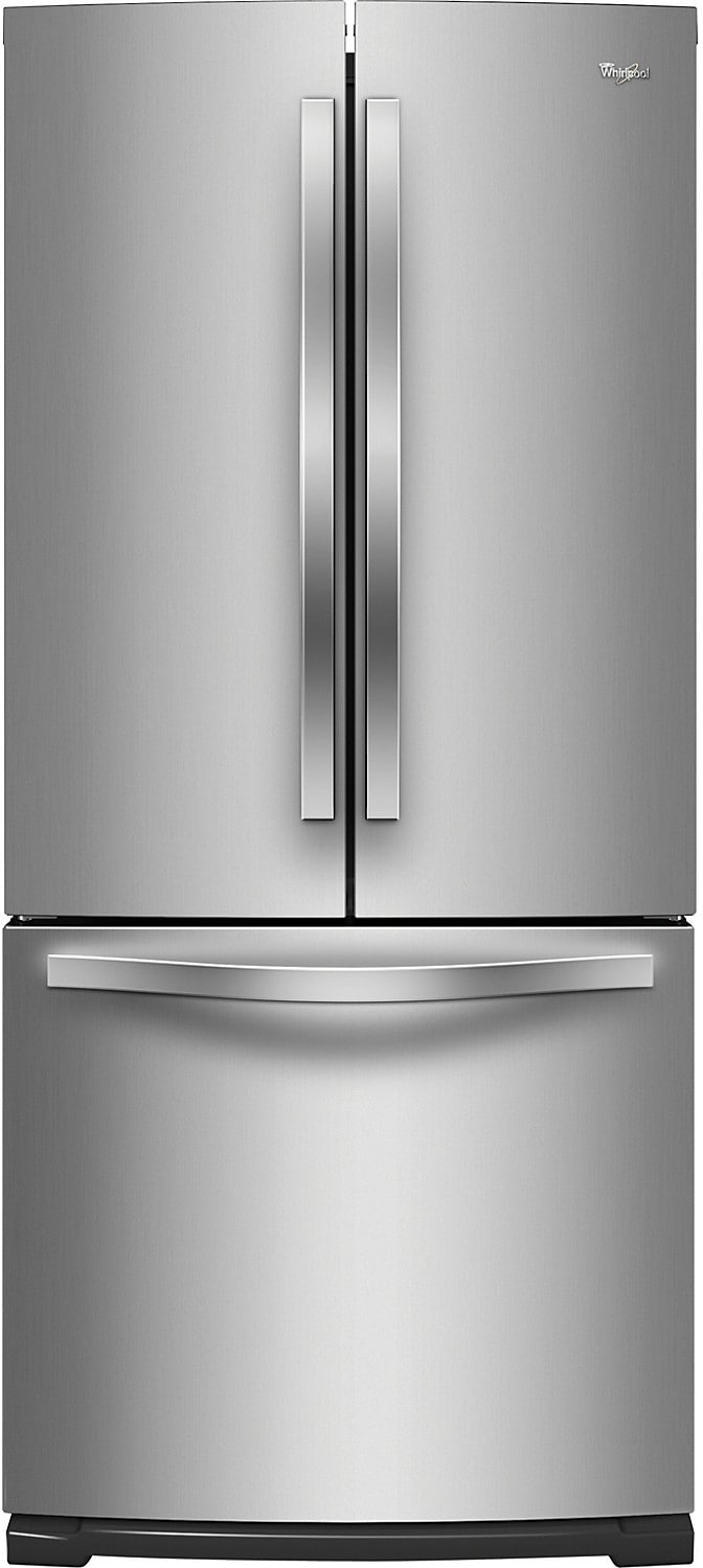 Whirlpool® 20 Cu. Ft. French-Door Refrigerator - Stainless Steel