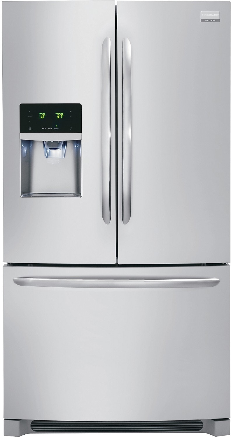 Frigidaire 23 Cu. Ft. Counter-Depth French Door Refrigerator – Stainless Steel