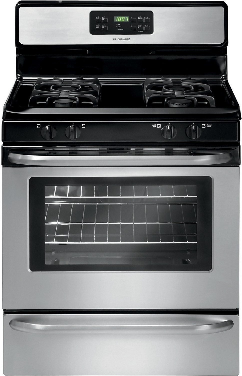 """Cooking Products - Frigidaire 30"""" Freestanding Gas Range - Stainless Steel"""