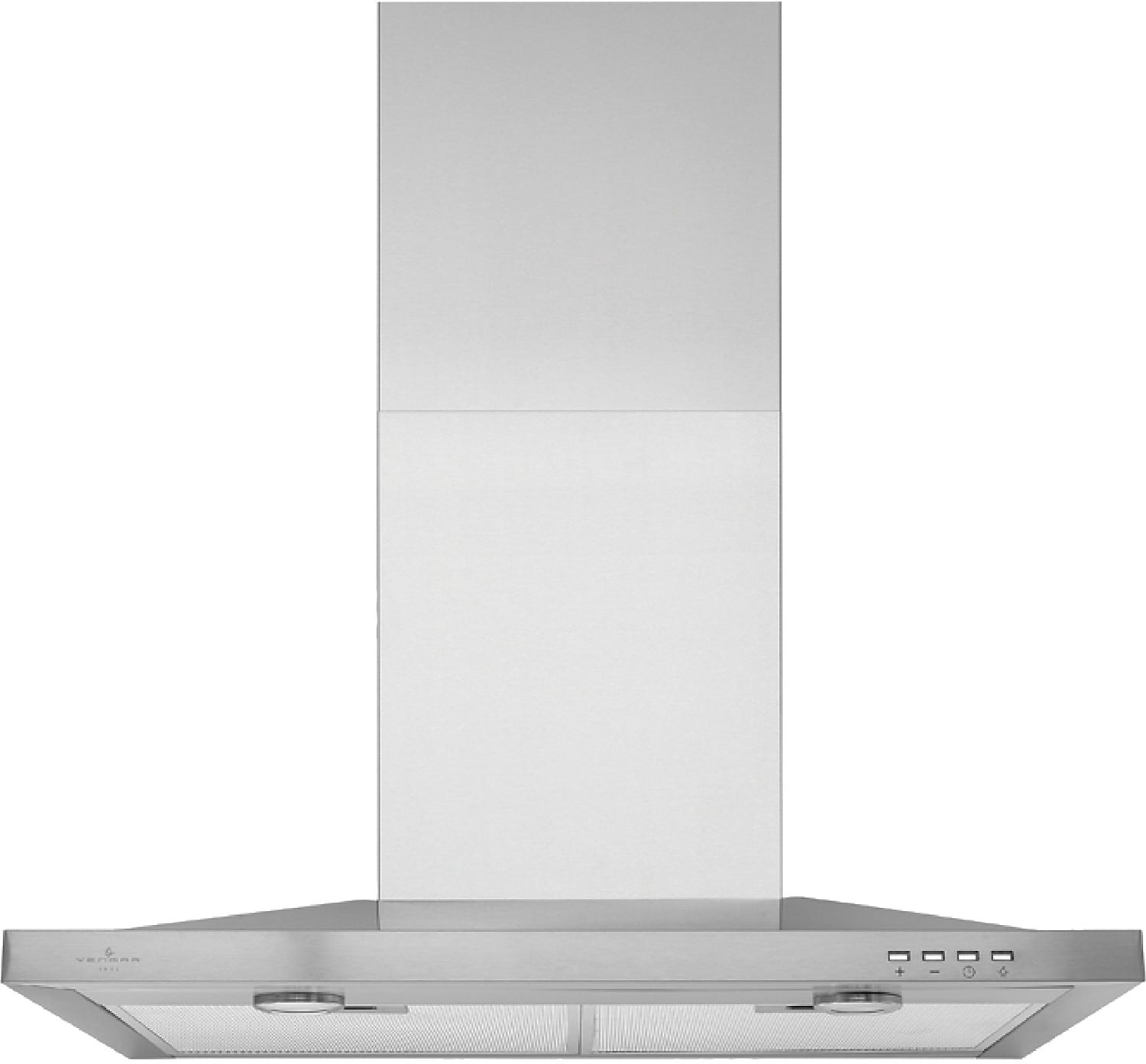 """Cooking Products - Venmar® 36"""" Pyramid-Style Chimney Hood – Stainless Steel"""