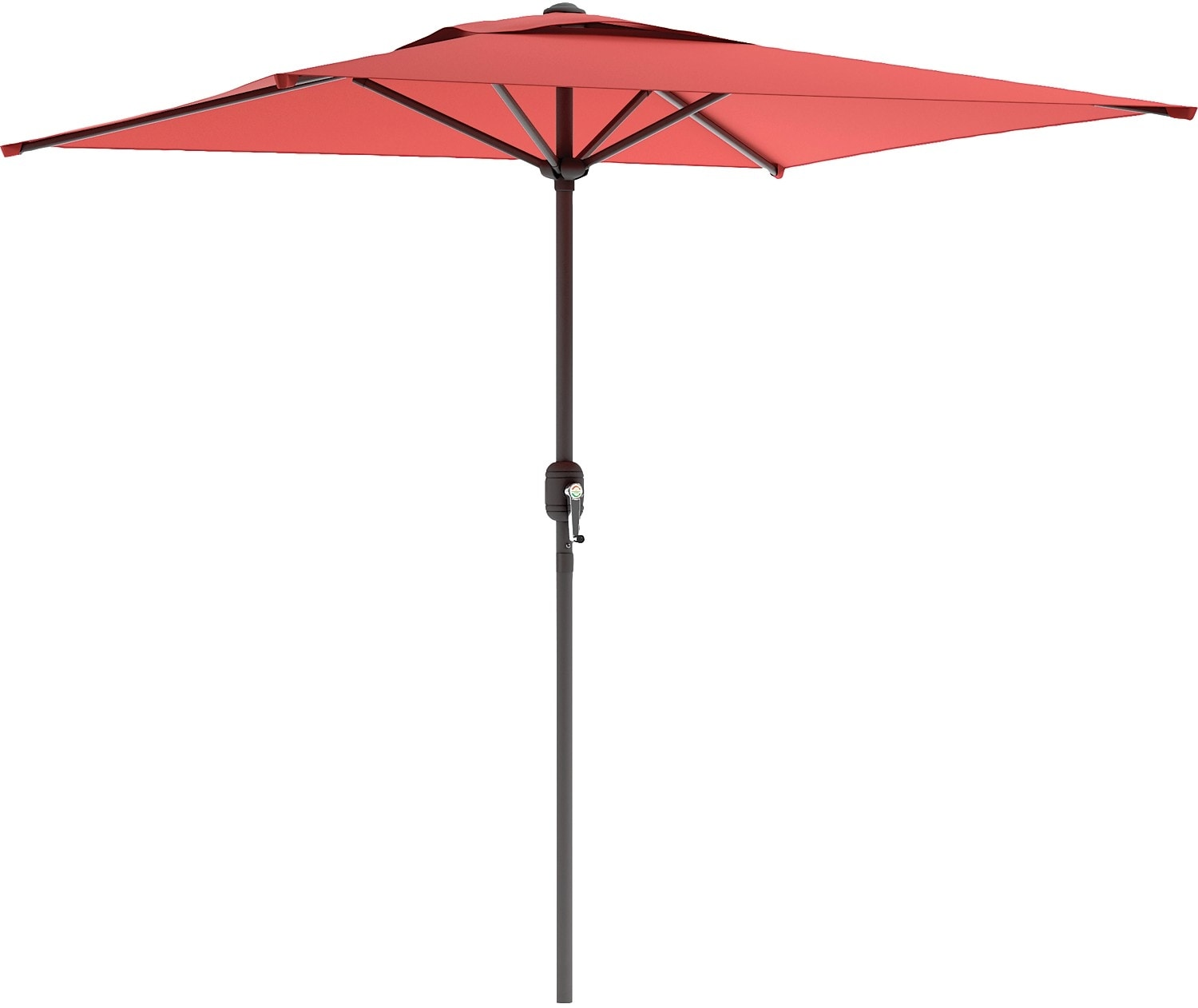 Outdoor Furniture - Square Patio Umbrella – Wine Red