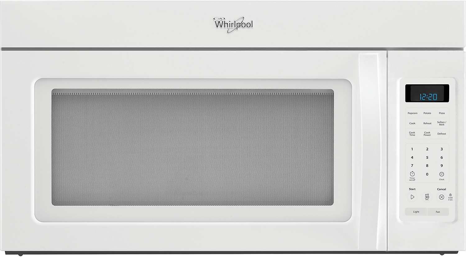 Cooking Products - Whirlpool 1.7 Cu. Ft. Over-The-Range Microwave - White