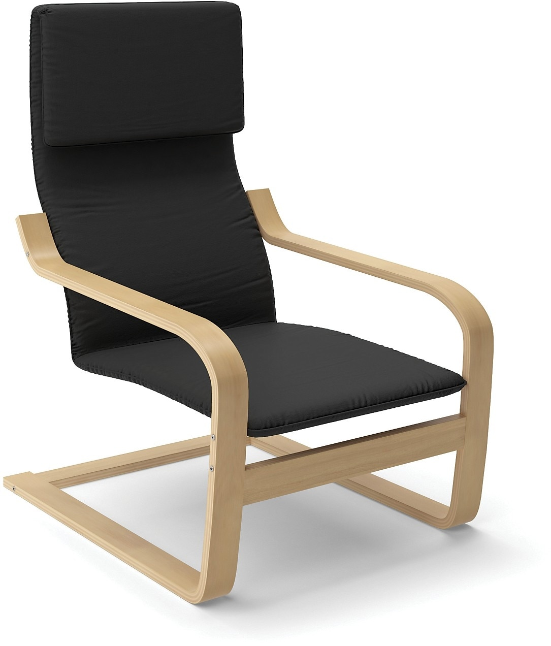 Vonn Contemporary Armchair – Black