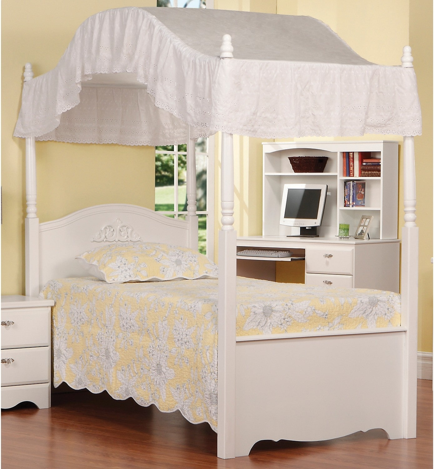 canopy beds for twin - photo #23