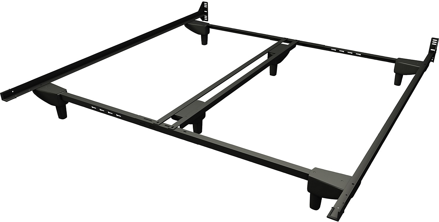 Steel Bed Frames Queen Metal Bed Frames Queen Size Extra: Deluxe Queen/King Bedframe