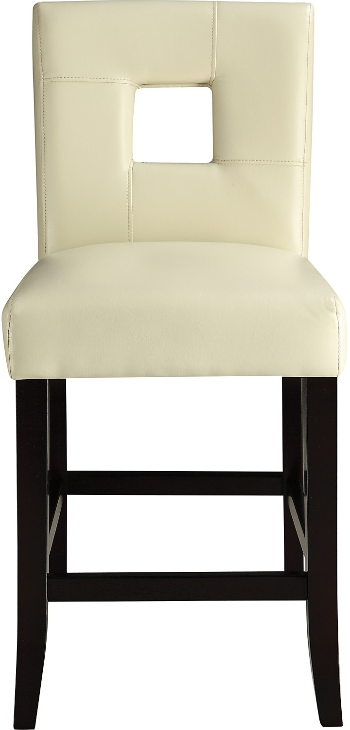 Dining Room Furniture - McKenna Counter-Height Dining Chair – White