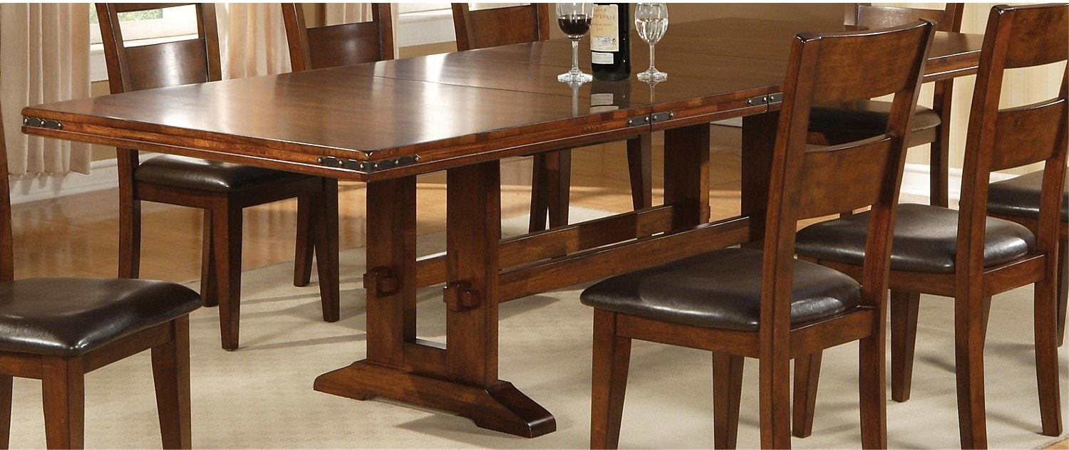 Magnus dining table the brick - The brick dining room sets ...