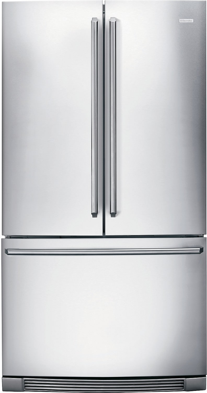 Refrigerators and Freezers - Electrolux 23 Cu. Ft. Counter-Depth French Door Refrigerator with Perfect Temp™ Drawer - Stainless S