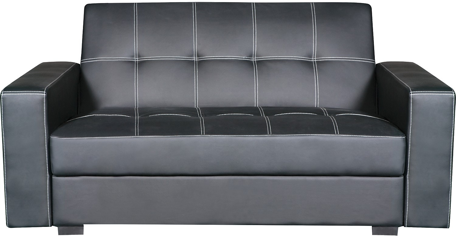 Belize Storage Futon - Black