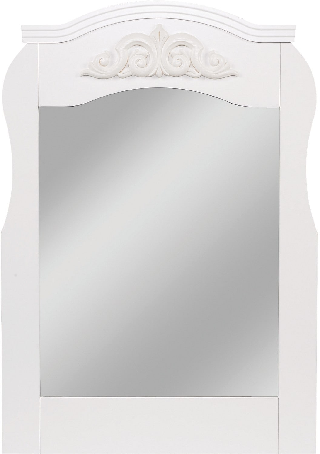Diamond Dreams White Mirror