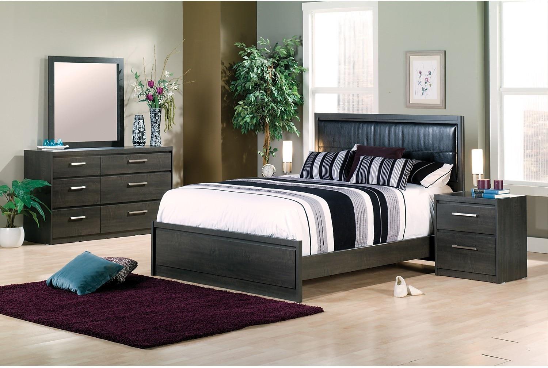 Bedroom Furniture - Tyler 8-Piece Queen Bedroom Package