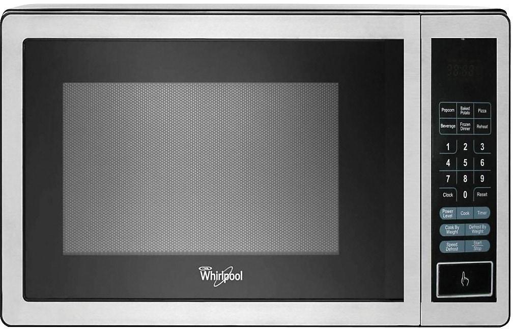 Whirlpool 0.9 Cu. Ft. Countertop Microwave - Stainless Steel