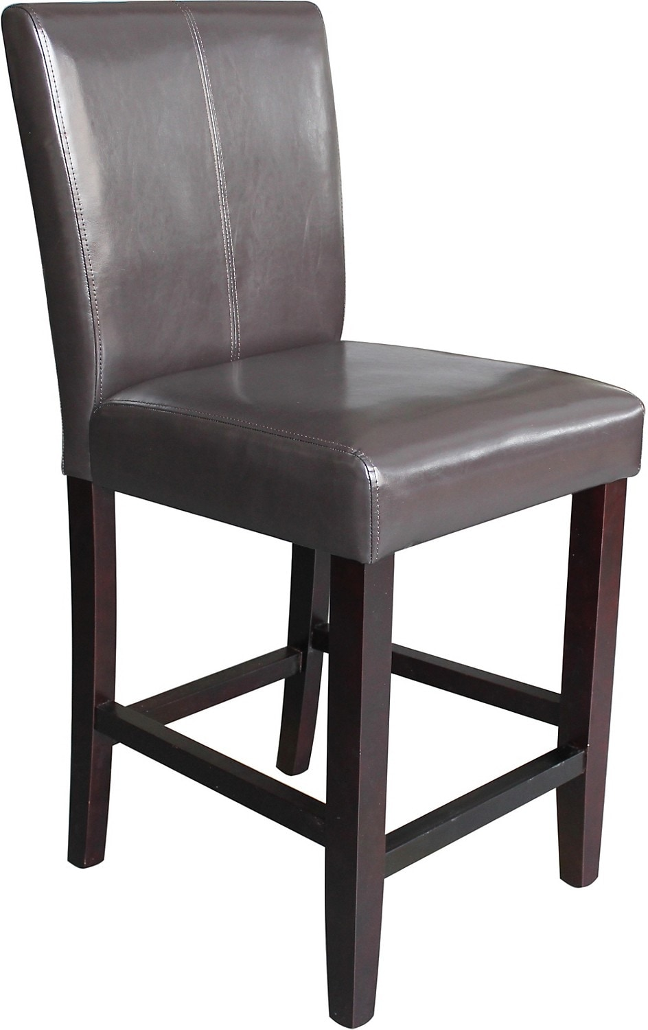 Dining Room Furniture - Brown Counter-Height Dining Chair