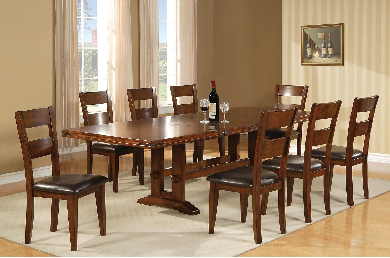 magnus 9 piece dining package the brick