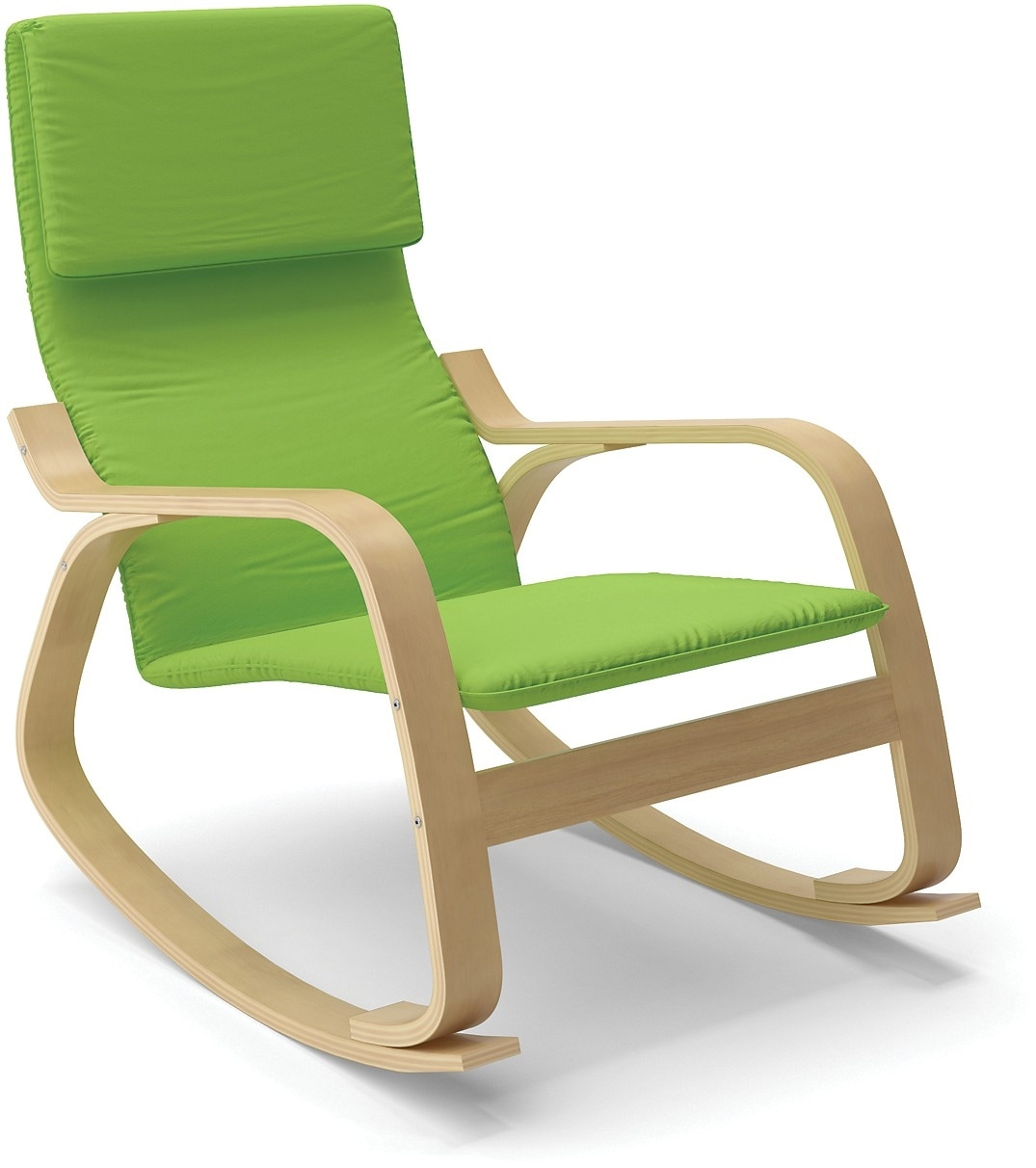 Living Room Furniture - Volo Contemporary Rocking Chair – Green
