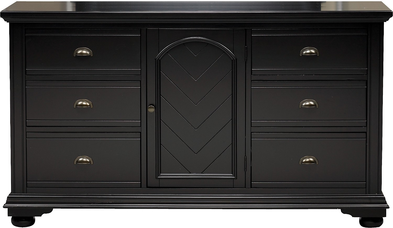 Brook Black Dresser