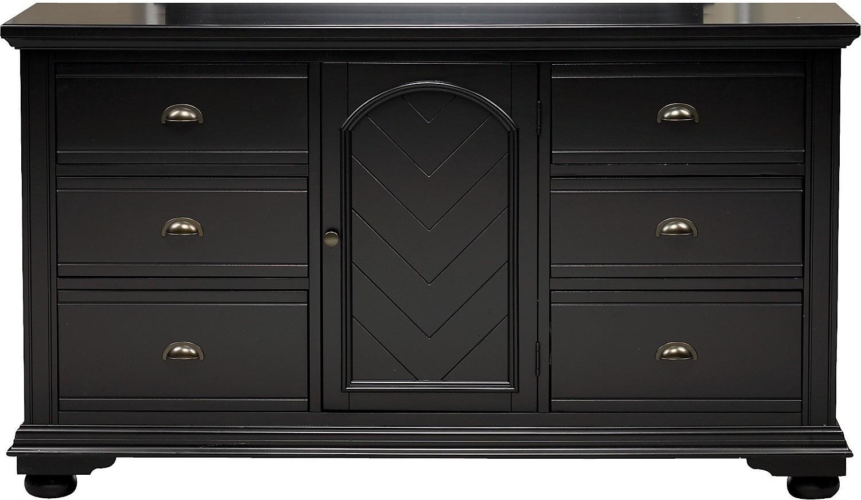 Bedroom Furniture - Brook Black Dresser