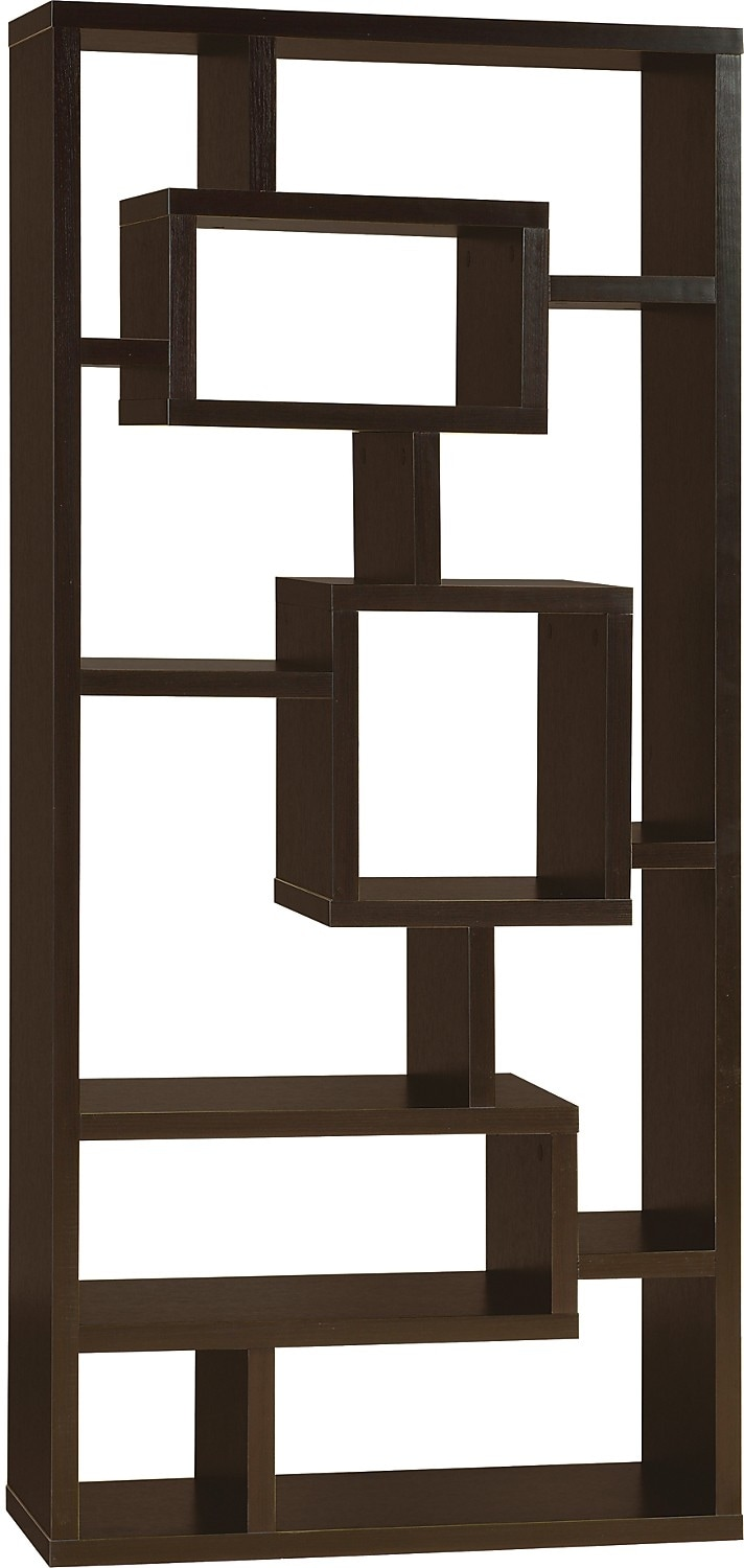 Accent And Occasional Furniture Florence Bookcase Espresso