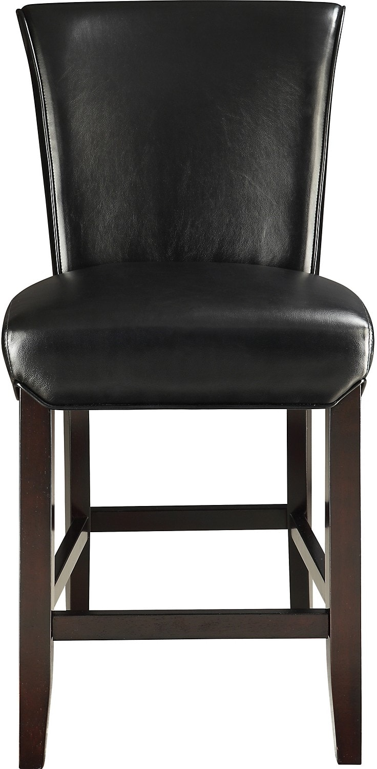 Brogan Counter-Height Dining Stool – Black