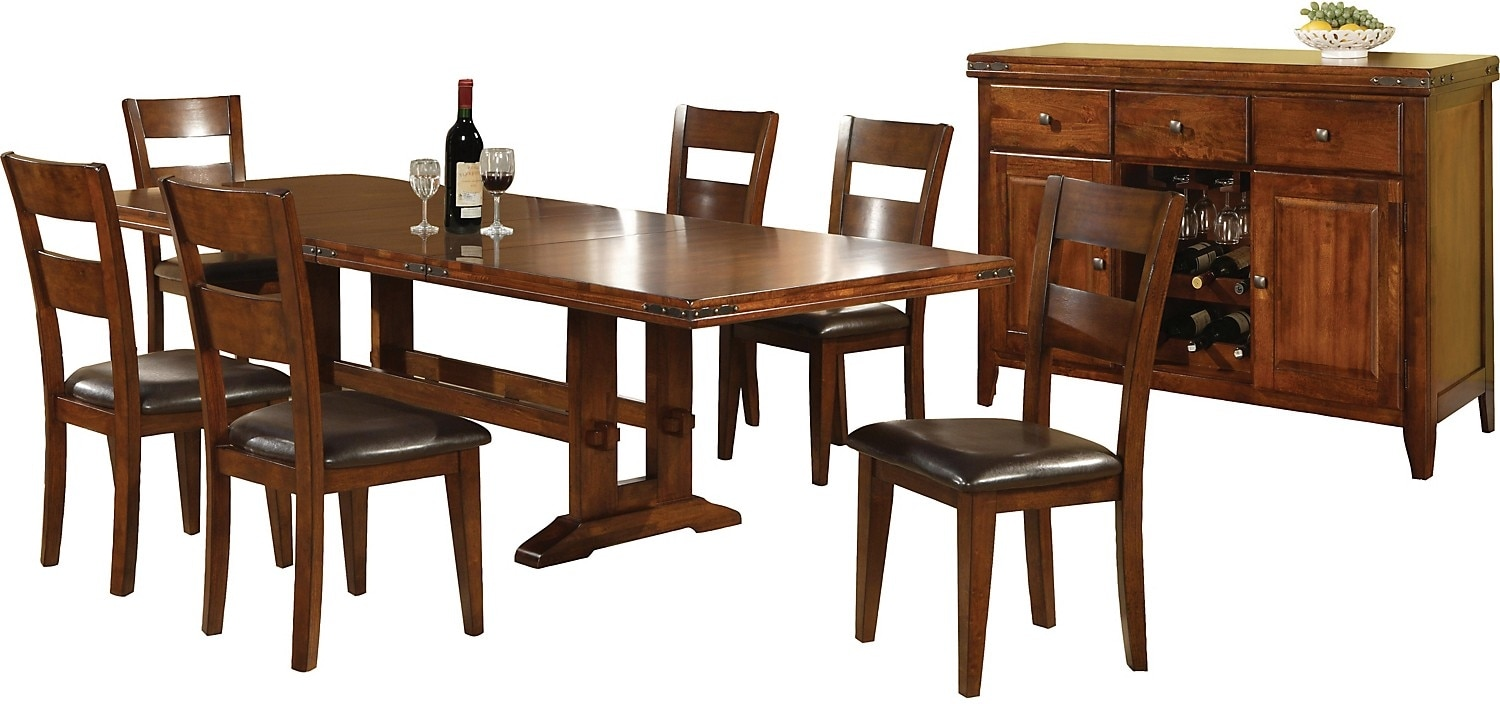 Dining Room Furniture - Magnus 8 Piece Dining Package