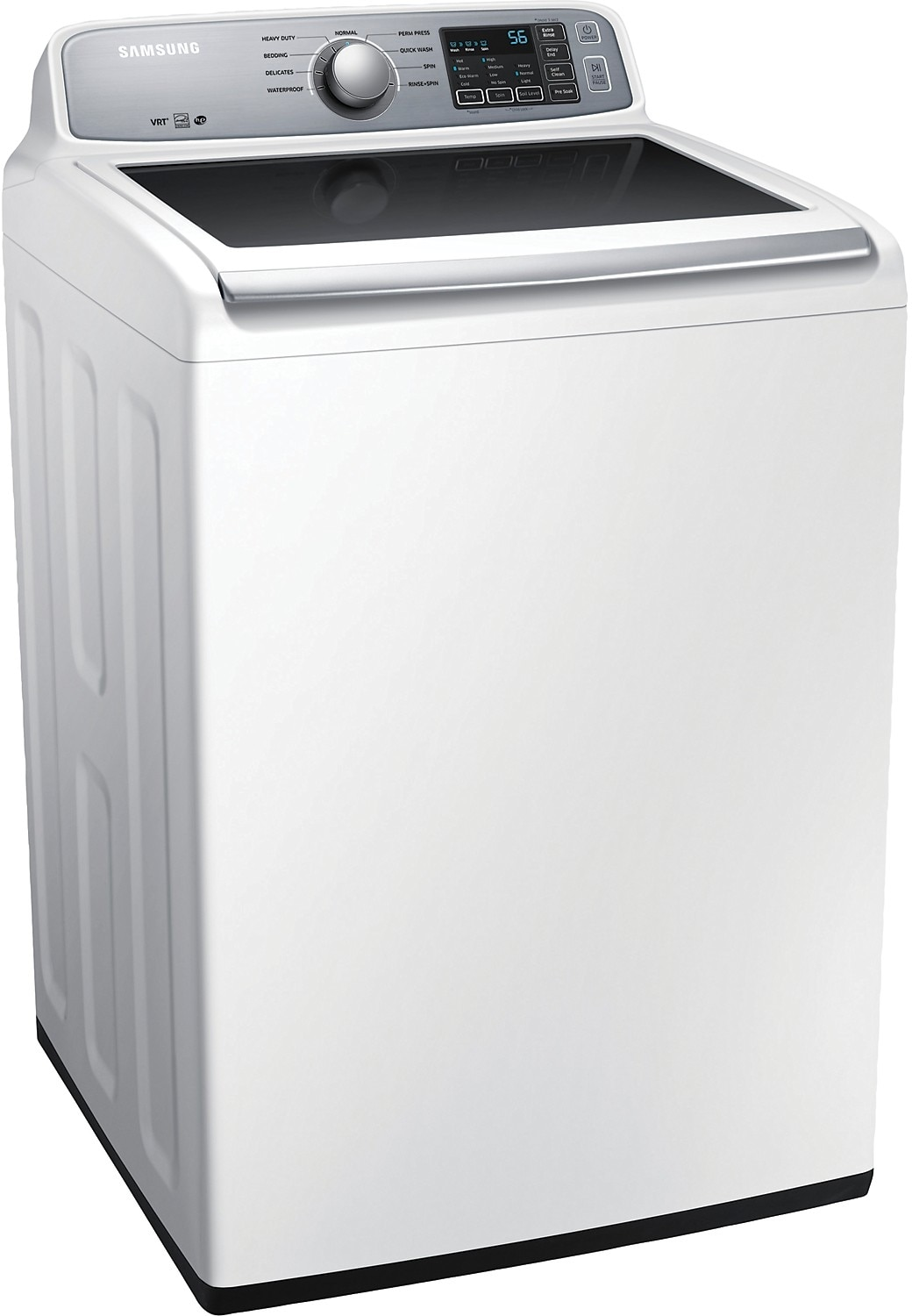 Largest Top Loading Washing Machine Samsung 52 Cu Ft Large Capacity Top Load Washer White The Brick