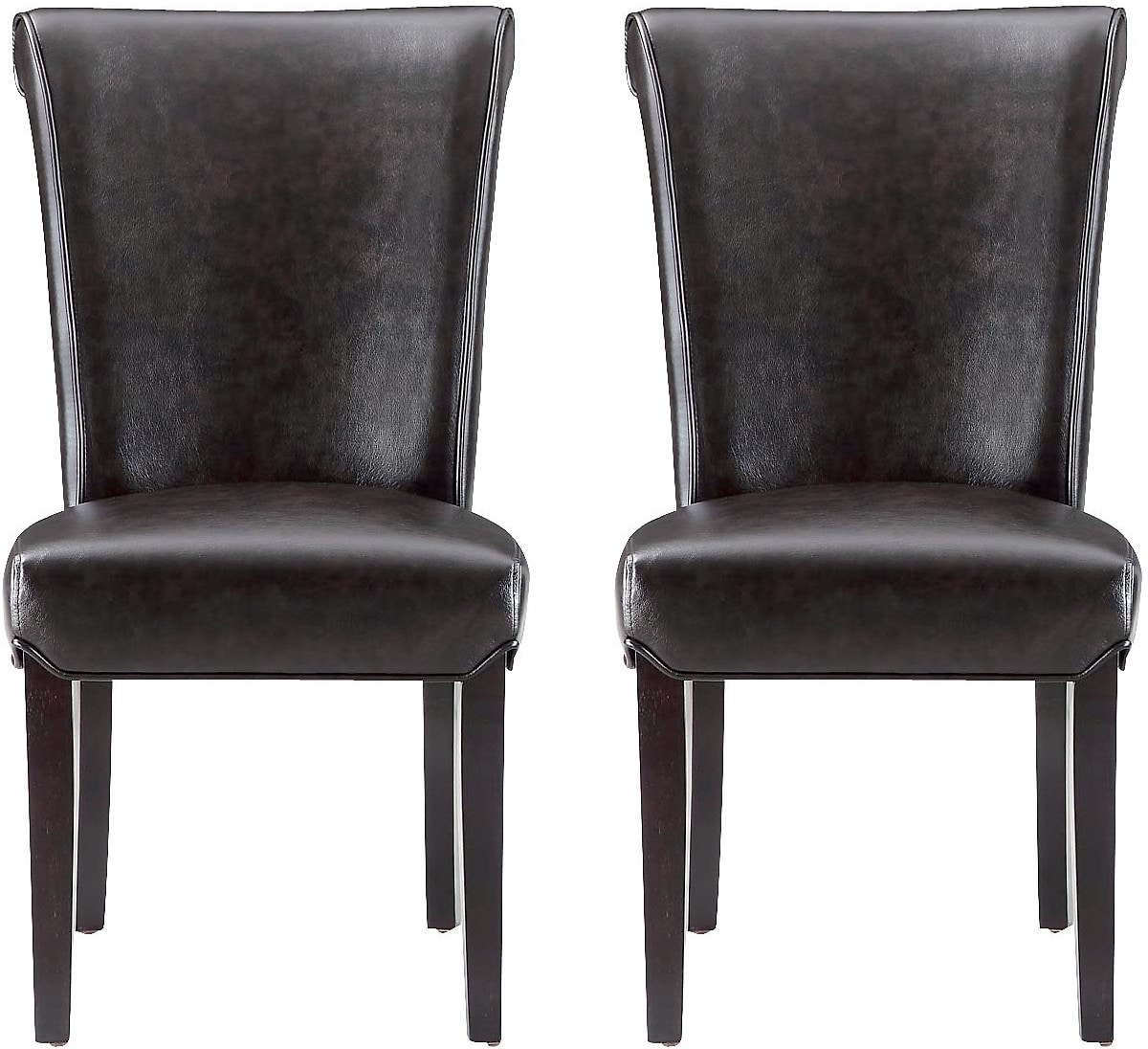 2 Brogan Brown Dining Chairs