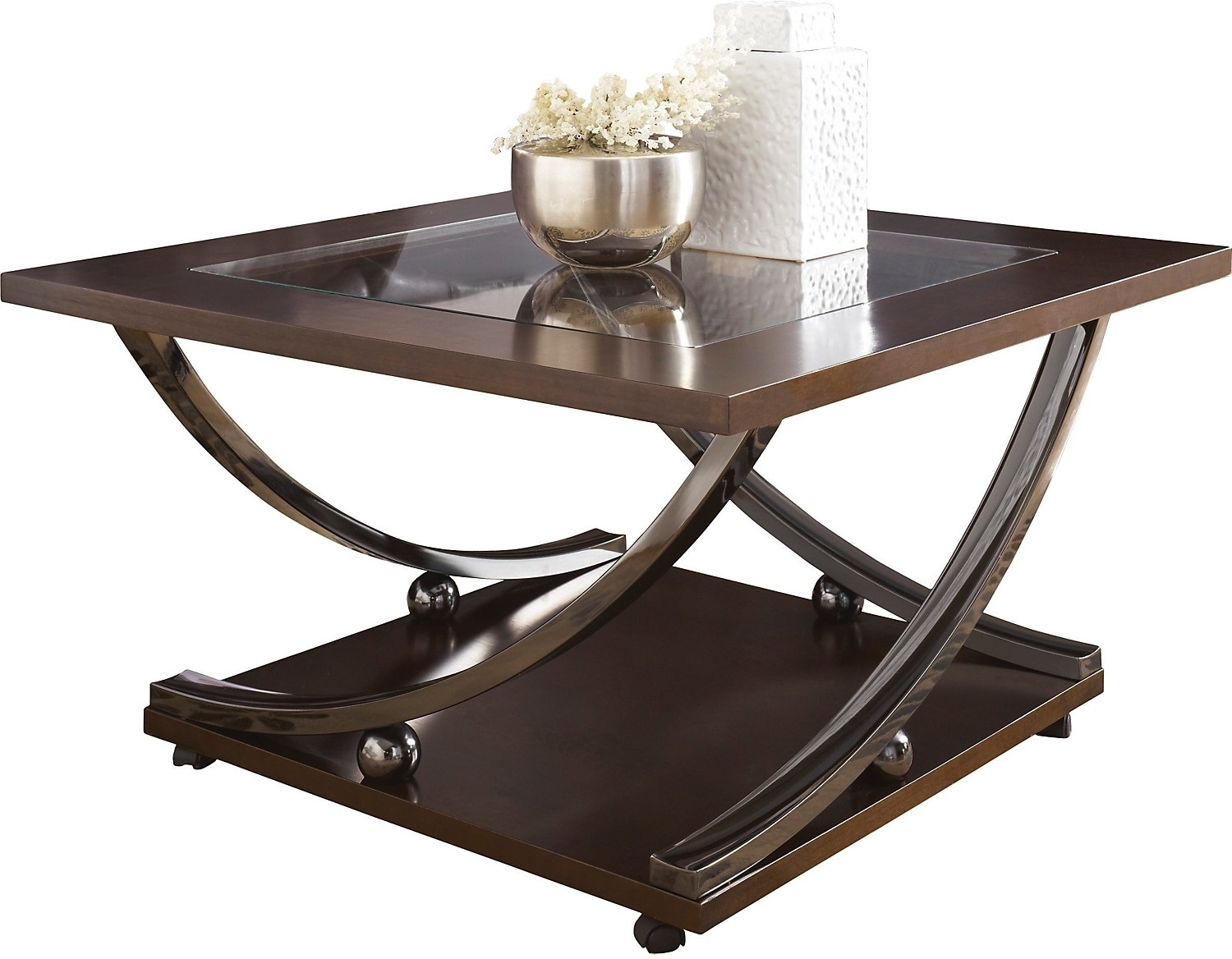 Rollins Coffee Table With Casters The Brick